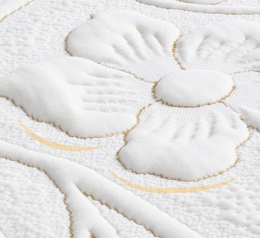 穗寶康床墊-FB美式電動床-純棉包紗布車花